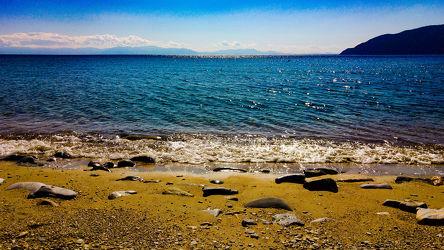 Am Strand in Griechenland