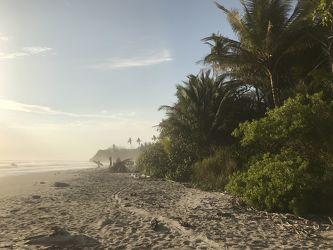 Bild mit Natur,Wasser,Gewässer,Strände,Sonne,Landschaft,Paradies,Sonnenuntergang/Sonnenaufgang,Costa Rica,Strand und Meer,Playa Hermosa/Santa Teresa