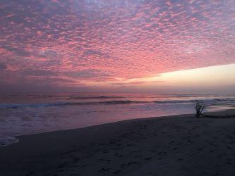 Bild mit Wasser, Gewässer, Strände, Sonne, Paradies, Sonnenuntergang/Sonnenaufgang, Costa Rica, Strand und Meer, Playa Santa Teresa