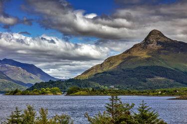 Bild mit Natur, Berge, Gewässer, Landschaft, See, Schottland, Naturfoto, schottische highlands, Loch Levens, glen coe