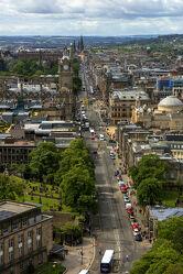 Bild mit Architektur, Stadt, historische Altstadt, urban, Schottland, Stadt Impressionen, Hauptstadt, Hochformat, Calton Hill, Edinburgh