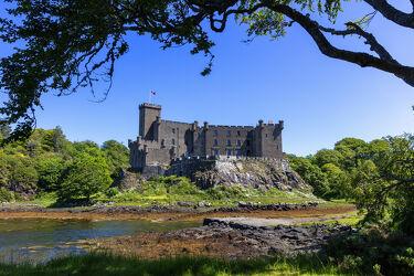 Bild mit Schloss, Festung, Burg, Schottland, Isle of Skye, Castle, Dunvegan Castle, skye, Loch Dunvegan, Hebriden