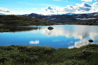 Norwegen Gebirgssee