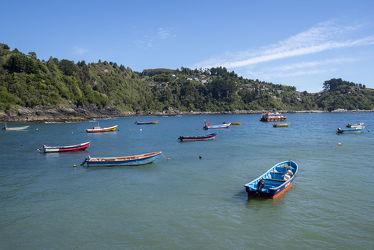 In der Bucht von Bahia Manza in Chile