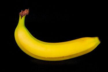 Bild mit Gelb, Schwarz, Frucht, Nahrungsmittel, Banane, Obst, Makro, Früchte & Lebensmittel, nahaufnahme, Beleuchtung, Südfrüchte