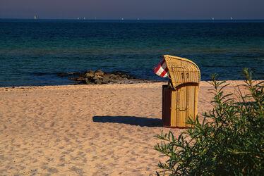 Bild mit Wasser, Wellen, Sand, Strand, Ostsee, Ruhe, Entspannung, Wind, Ufer, Niendorf