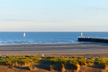 Strandblick am Morgen