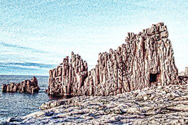 Bild mit Natur, Wasser, Felsen, Meer, Steine