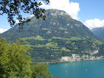 Bild mit Natur, Landschaft, See, berg, Schweiz