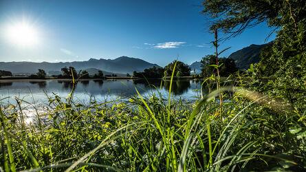 Bild mit Wasser, Sonnenuntergang, Sonnenaufgang, Sonnenschein, Teich, Landschaften & Natur