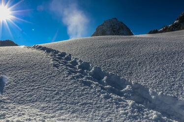 Bild mit Berge, Schnee, Sonne, Alpen Panorama, Sonnen Himmel, Schneelandschaften