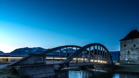 Bild mit Sonnenuntergang, Brücken und Bögen, Sonnenaufgang, Licht, Brücke, Morgengrauen