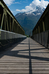 Bild mit Brücken, Brücke