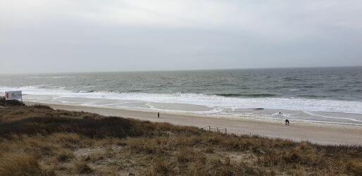Bild mit Wolken, Wellen, Strand, Sandstrand, Wolkenhimmel, Wolken Himmel, Wolkenbildung, Wasserwellen, Strandwellen