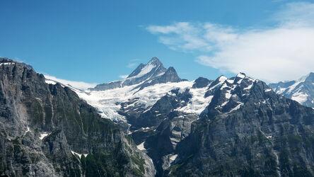 Die Schweize Alpen im Sommer