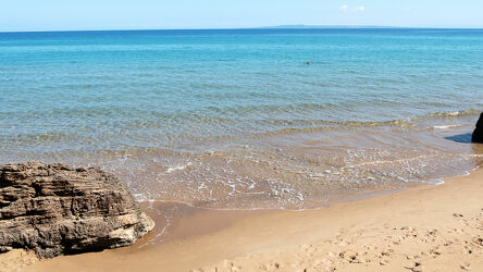 Strand auf Insel Zakynthos