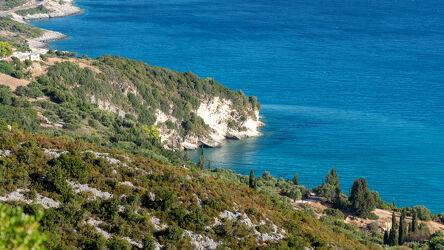 Malerische Buchten am Insel Zakynthos