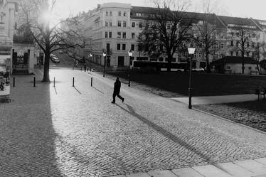 Bild mit Städte, Stadt, Görlitz, City, schwarz weiß, Stadtleben, Platz, Theaterplatz