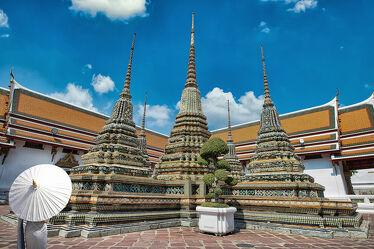 Bild mit Kunst, asien, südostasien, Tempelanlagen, Tempel, Religion, Thailand, Königspalast, wat pho