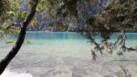 Bild mit Natur, Waldsee, See, glasklar