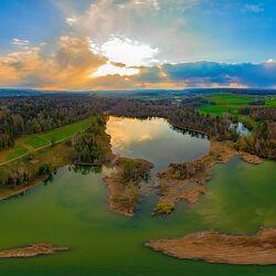 Bild mit Wasser, Seen, Panorama, Drohnen