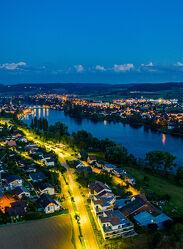 Stein am Rhein bei Nacht