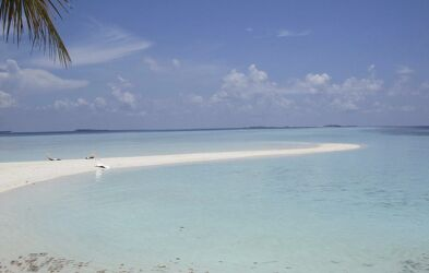 Bild mit Strand, Meerblick, Meer, weiss