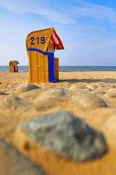 Bild mit Wellen, Urlaub, Kitesurfen, Nordsee, Strandkörbe am Meer, Erholung, Geburtstag, Freizeit, Cuxhaven, Geschenk