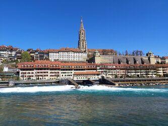 Bild mit Stadt, historische Altstadt, City, Hauptstadt, Schweiz, Bern