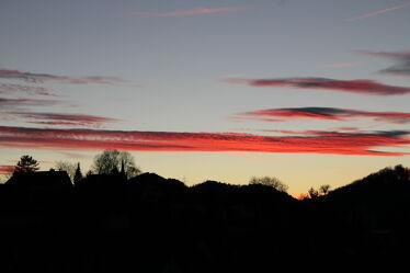 Bild mit Himmel, Rot, Abendrot, Abend