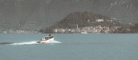 Bild mit Wasser, Landschaften, Herbst, Italien, boot, Bellagio, Komersee, Riviera