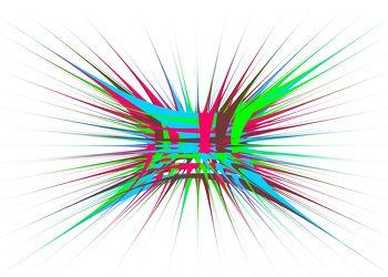 Bild mit Farben, Kunst, Grün, Abstrakt, Abstrakte Kunst, Abstrakte Malerei, Kunstwerk