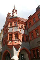 Bild mit Orte, Siedlungen, Architektur, Bauwerke, Gebäude, Städte, Brücken und Bögen, Bögen, Gebäudeteile, Häuser, Fenster, Stadt, Stadt Görlitz, Görlitz