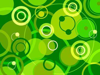 Bild mit Farben,Grün