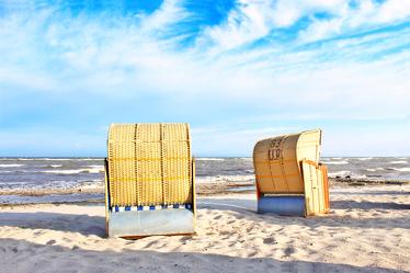 Ostsee Strandkörbe 11