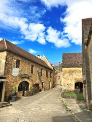 Gasse in Frankreich